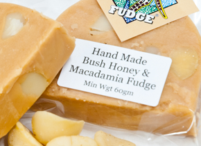 hand made award winning fudge kangaroo valley