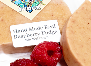 hand made raspberry fudge kangaroo valley