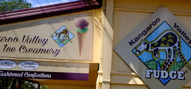 Kangaroo Valley Fudge House has moved to new premises