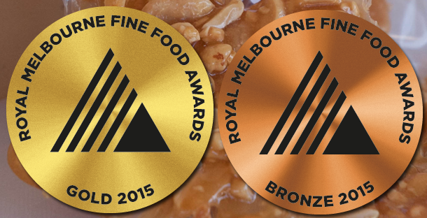 kangaroo valley fudge winning medals in Melbourne