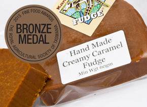 hand made caramel fudge kangaroo valley