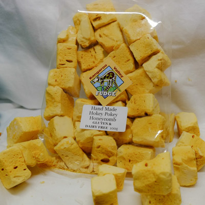 gluten and dairy free hokey pokey honeycomb hand made at kangaroo valley