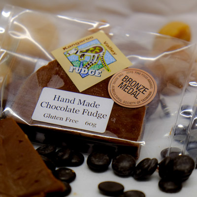 chocolate fudge hand made at kangaroo valley