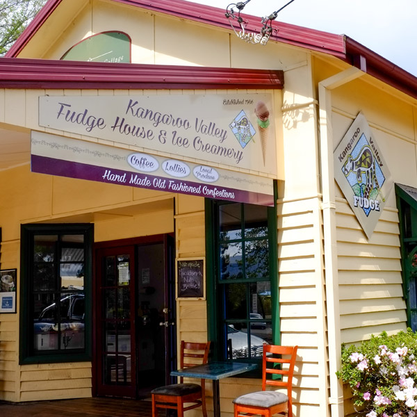 kangaroo valley fudge house and ice creamery shop
