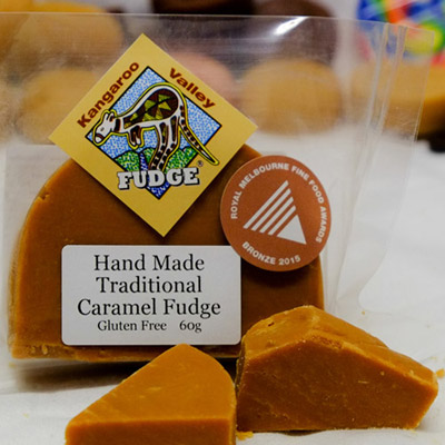 caramel fudge hand made at kangaroo valley