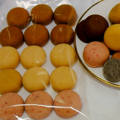 multi fudge button pack for special events and wedding treats
